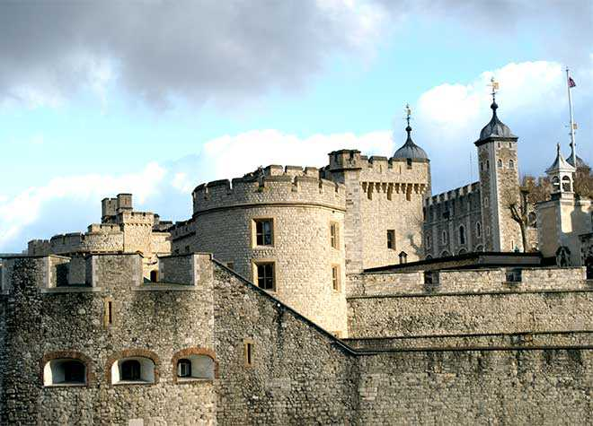Tower of London Front Arial View