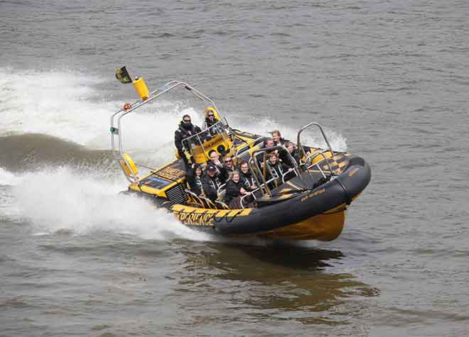 Thames Rib Experience Front View