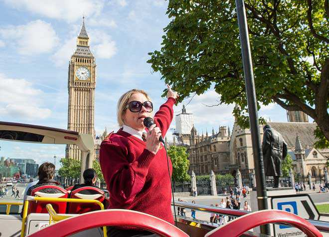 Big Bus London Guide