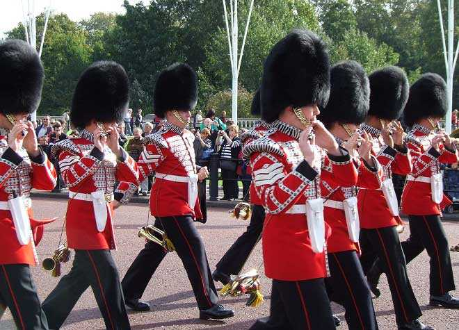 Changing of the Guard Marching