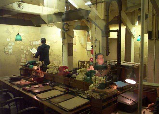 Churchill Museum War Room