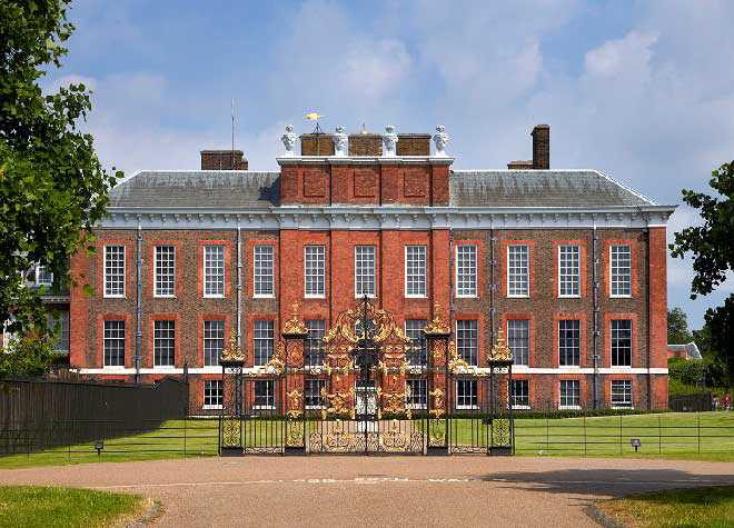 Kensington Palace Outside Front ...