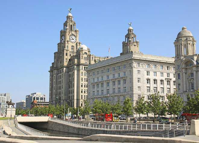 Liverpool Liver Building Outside