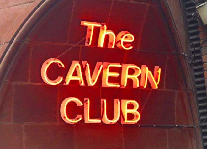 Liverpool Cavern Club Sign