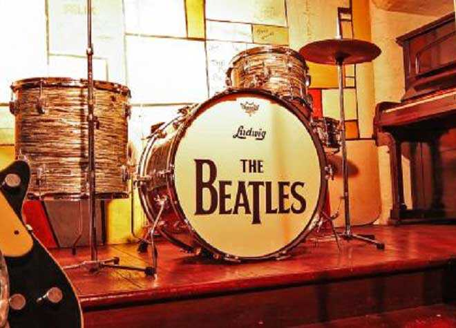Liverpool Beatles Tour Drums