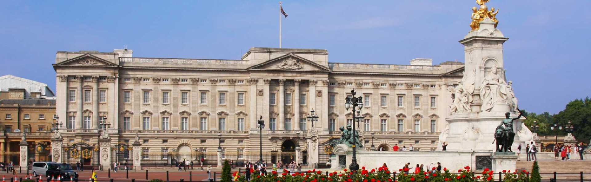 Buckingham Palace Outside Front View