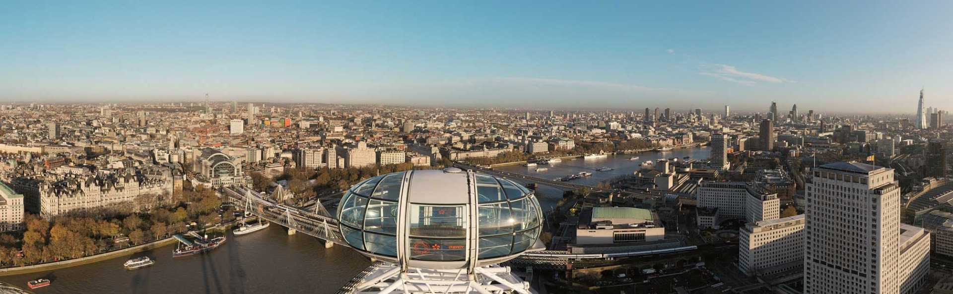 London Eye View Daytime
