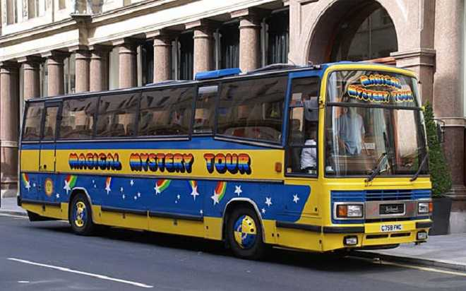 Magical Mystery Bus Tour