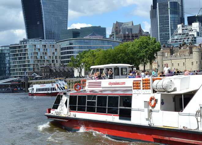 City Cruises River Red Rover