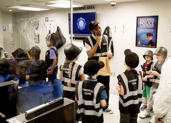 Nearest Service Station >> KidZania London - Top Attractions | Evan Evans Tours