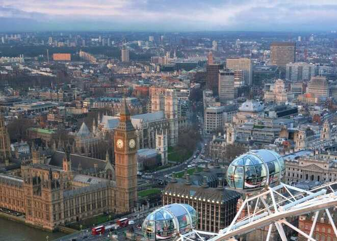 London eye tour ticket top attractions evan evans tours for Time square londra