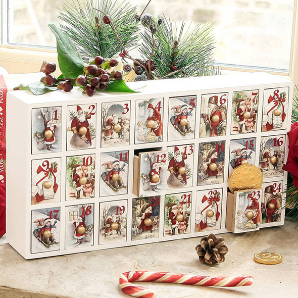 Guide Build Wood Advent Calendar Made Project By Wood