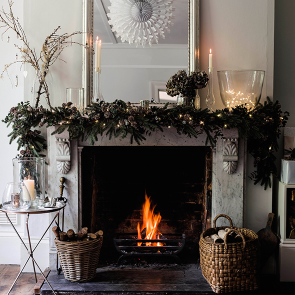 Christmas decorating ideas good housekeeping for Home christmas decorations uk