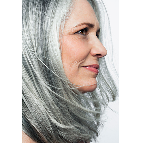 how to make your hair turn grey naturally