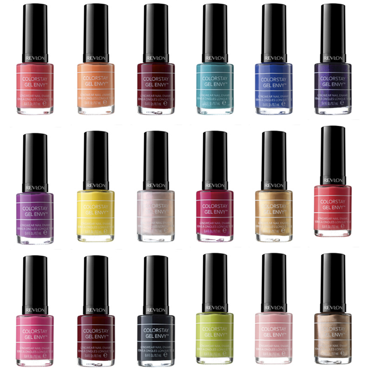 Most Popular Nail Polish Colors: Spotted New Revlon Colorstay Gel Envy Longwear Nail