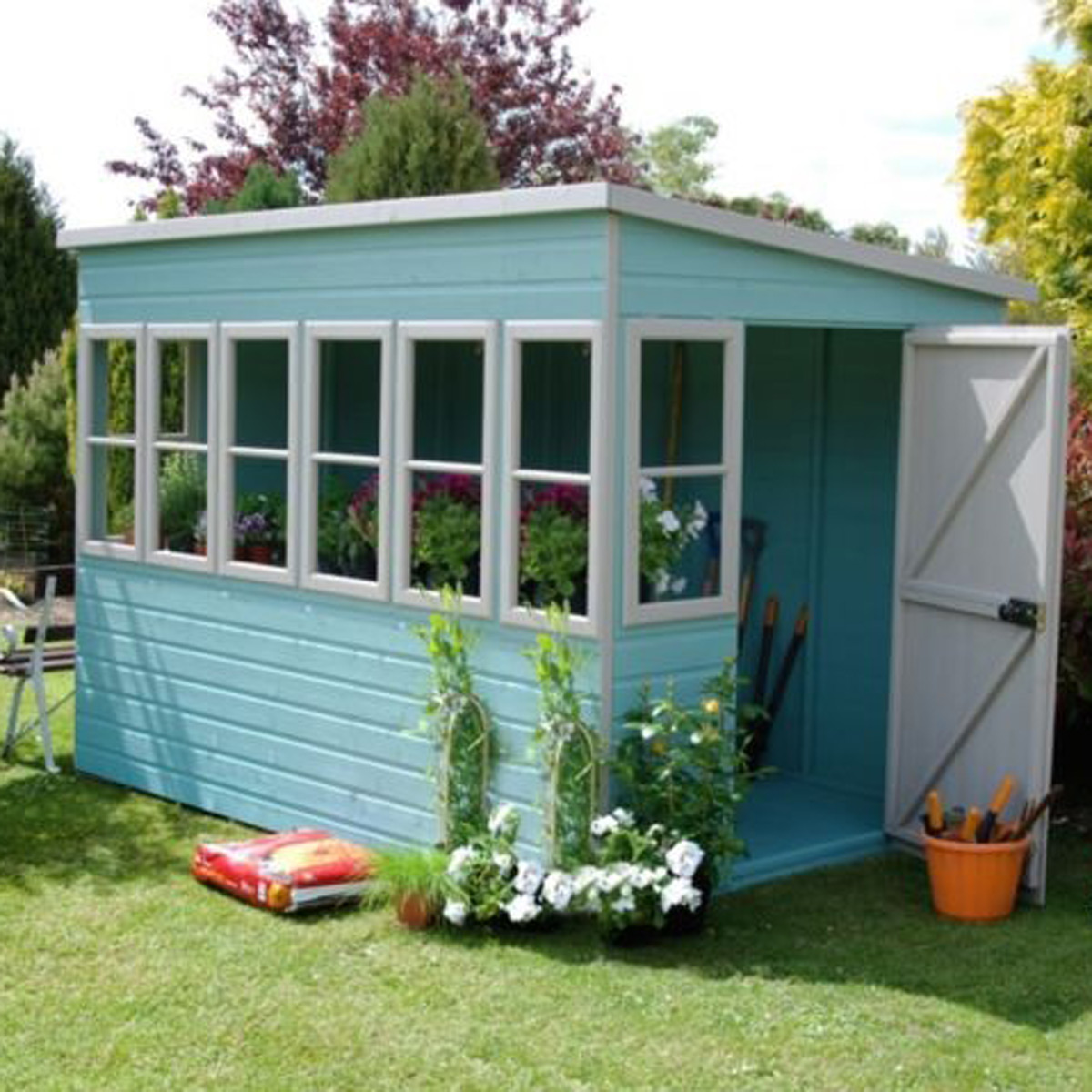 8 of the best garden sheds gardening accessories home for Best garden shed designs