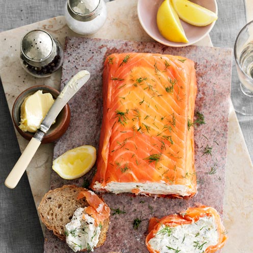 Terrine Recipes Salmon Salmon And Mackerel Terrine