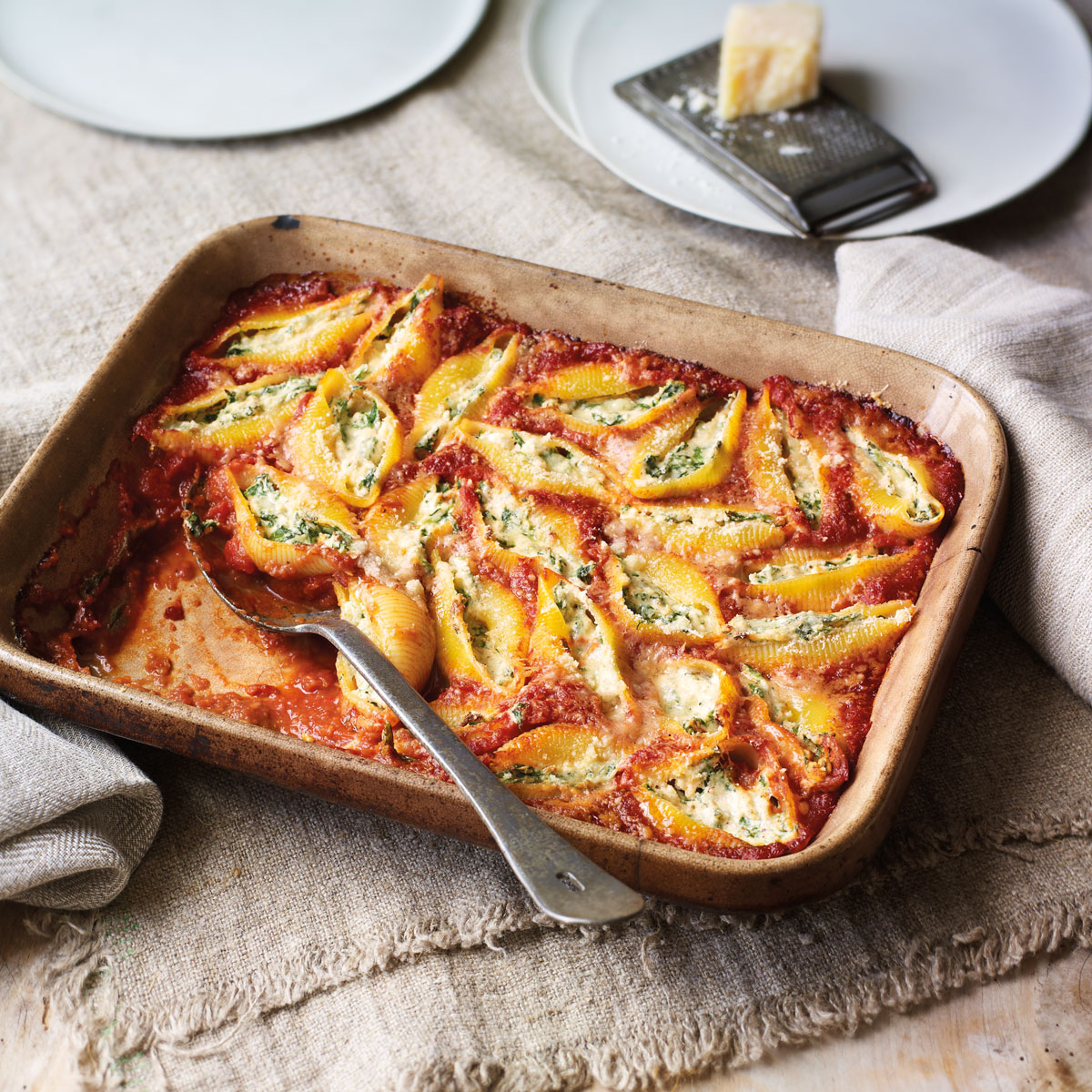 Spinach And Ricotta Stuffed Pasta Good Housekeeping