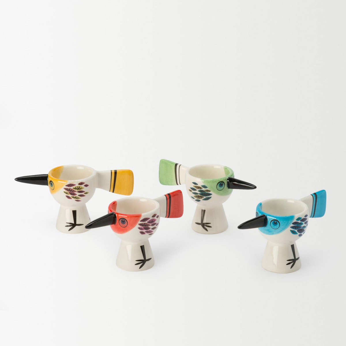 8 of the best quirky egg cups for easter home for Quirky accessories