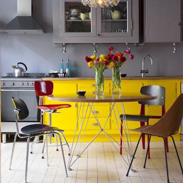 What the colour of your home says about you colour for Good housekeeping kitchen designs