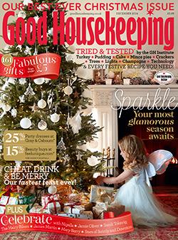 Good Housekeeping magazine, December 2014