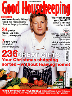 Good Housekeeping magazine, November 2006