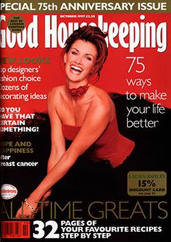 Good Housekeeping magazine, October 1997