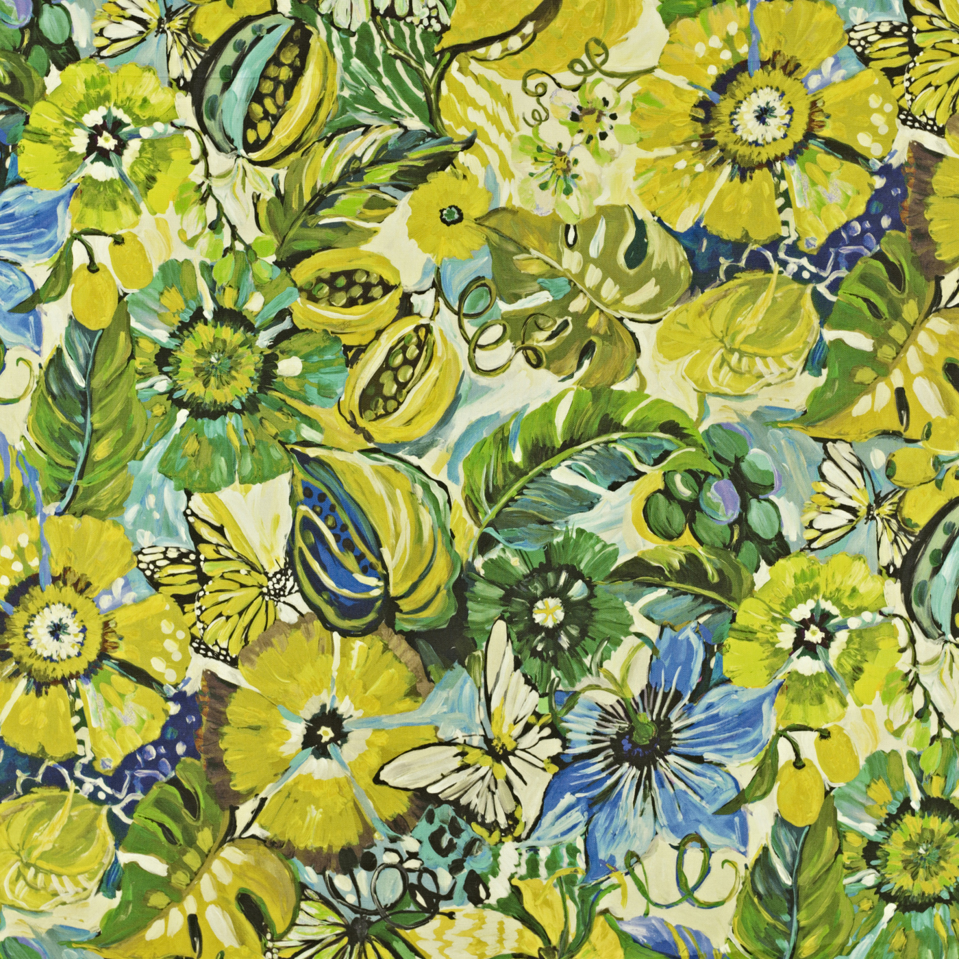 Quiz What Is Your Garden Style: Tropical Garden - Mojito Fabric