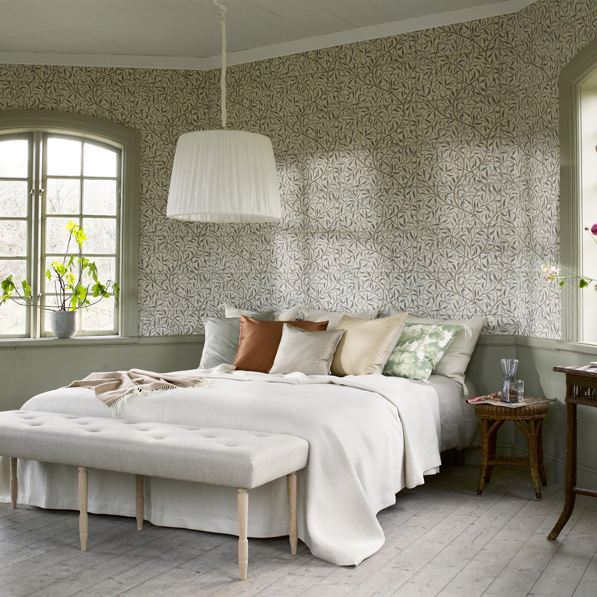 Diana Grey Wallpaper Brunnsnas Sandberg