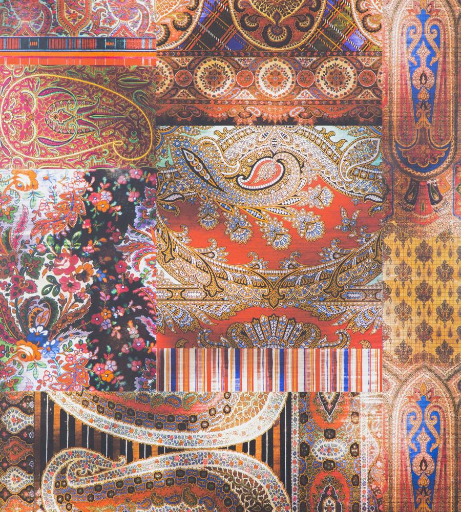 Lomond - Multi wallpaper   Bohemian Wallpapers   Mulberry Home