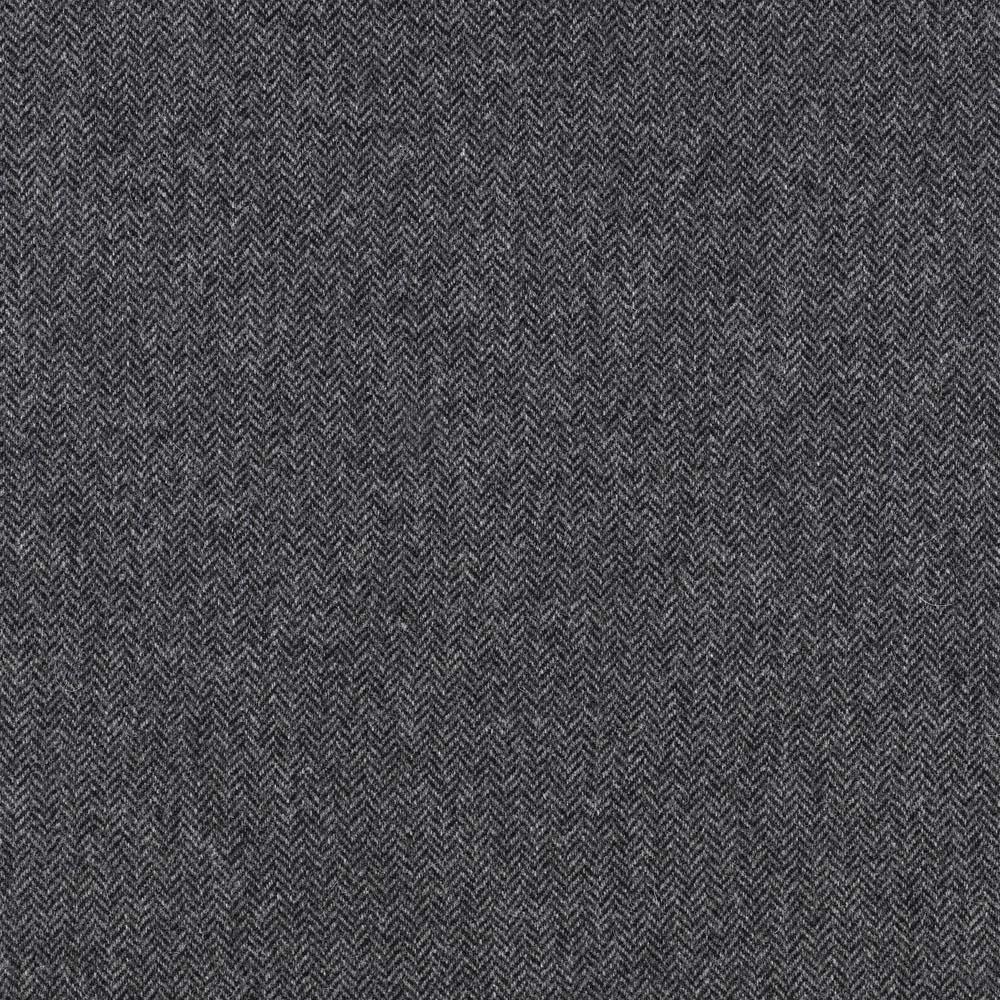 Herringbone Grey Fabric Moonlight Abraham Moon