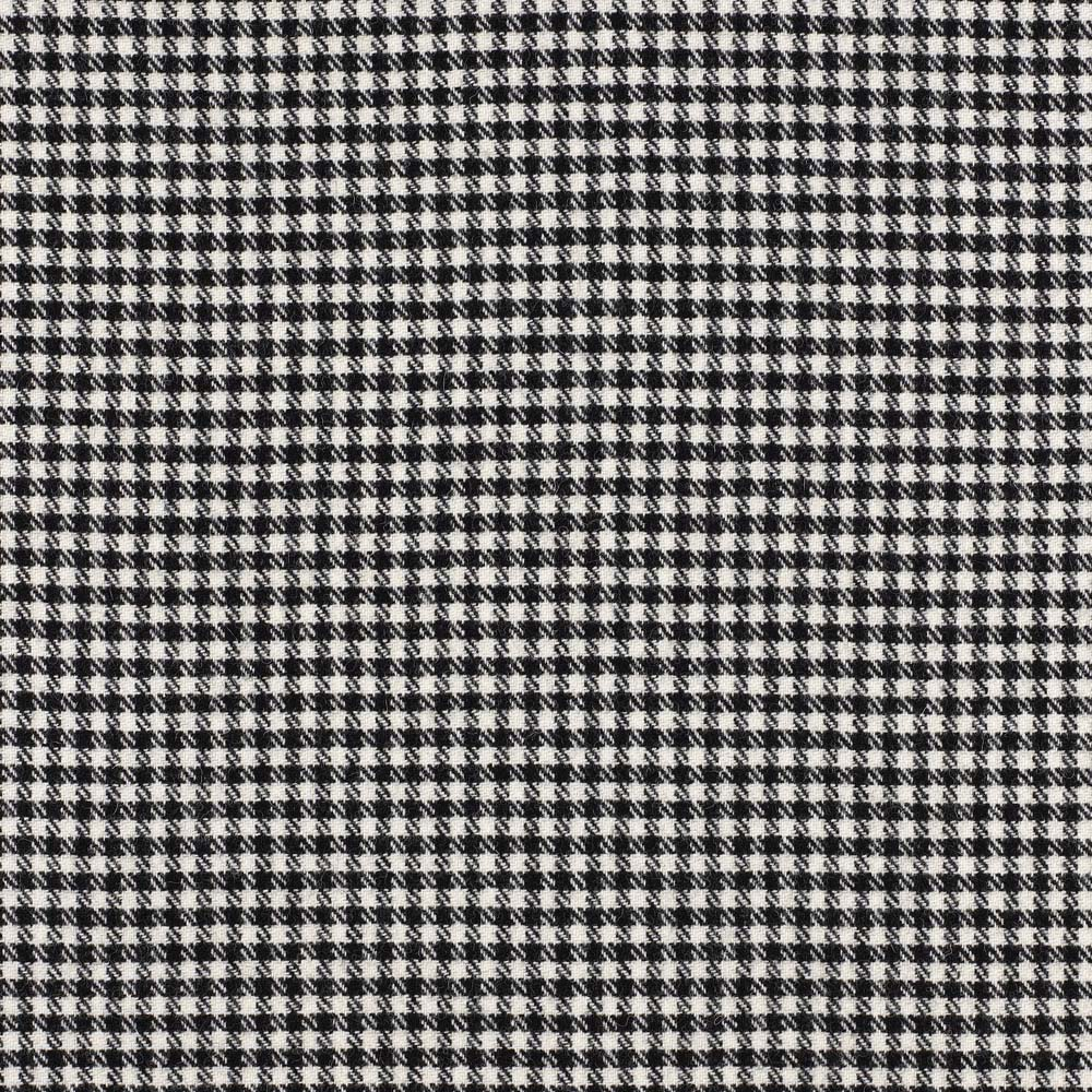 Shepherd Check Black White Fabric Moonlight Abraham Moon