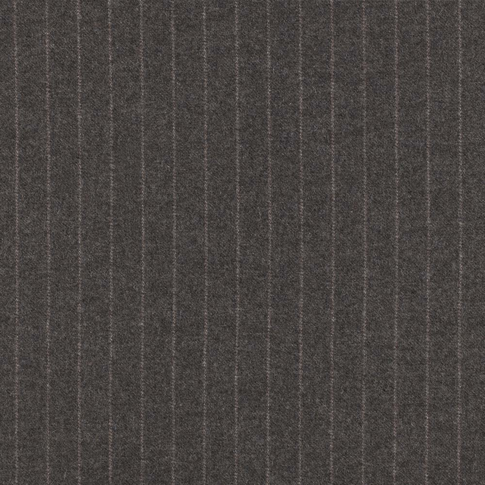 Chalk Stripes Light Grey Fabric Moonlight Abraham Moon