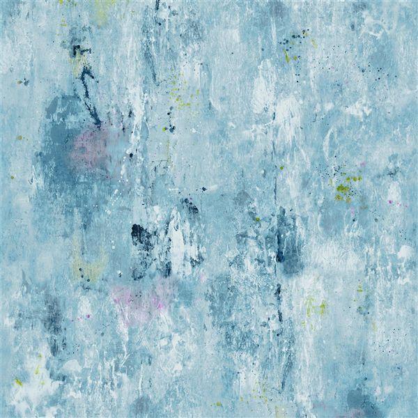 Corneille Slate Blue Wallpaper Jardin Des Plantes