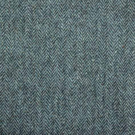 Herringbone Ocean Spray Fabric Harris Tweed Art Of