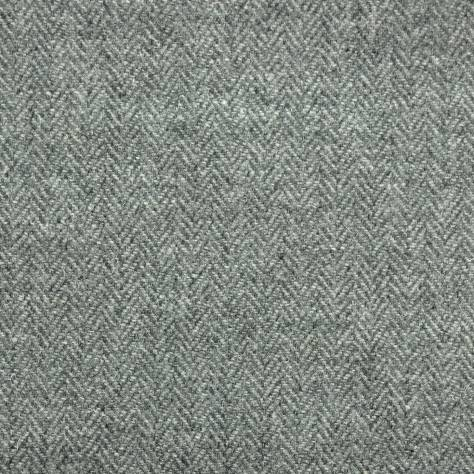 Herringbone Slate Grey Fabric Harris Tweed Art Of