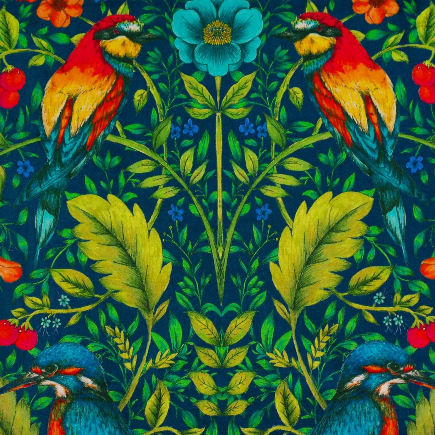 Rodbourn Paradise Blue Fabric Library Blendworth