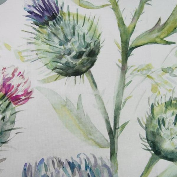 Thistle Glen Spring Cream Fabric Country Florals Voyage