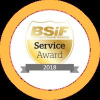 bsif award one logo