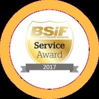 bsif award two logo