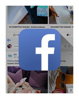 Følg Efi på facebook