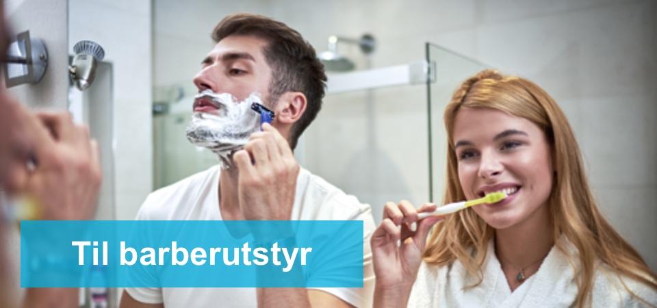 til barberutstyr