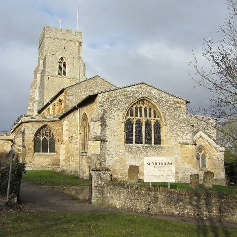 St Nicholas Church, Potterspury