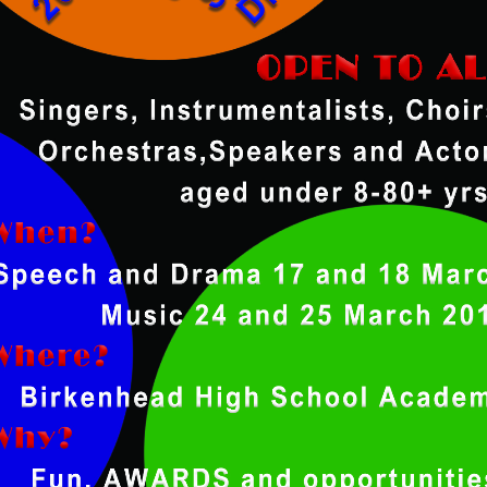 Wirral Festival of Music Speech and Drama