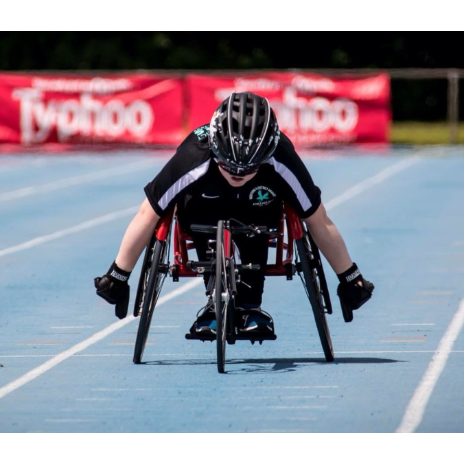 Nathan Freeman Wheelchair Athlete