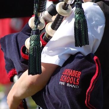 Lochaber Schools Pipe Band