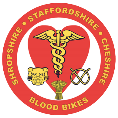 Shropshire Staffordshire Cheshire Blood Bikes