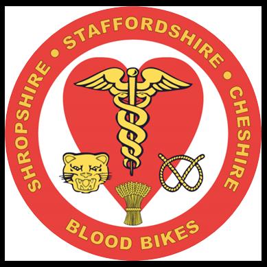 Shropshire Staffordshire Cheshire Blood Bikes