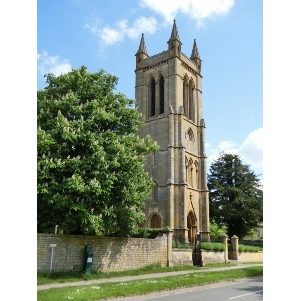 St Michael and All Angels Church with St Eadburgha's Church - Broadway