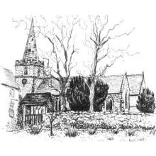 St Michaels Church - Markfield